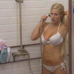 Big Brother Tag 47 - Natascha duscht