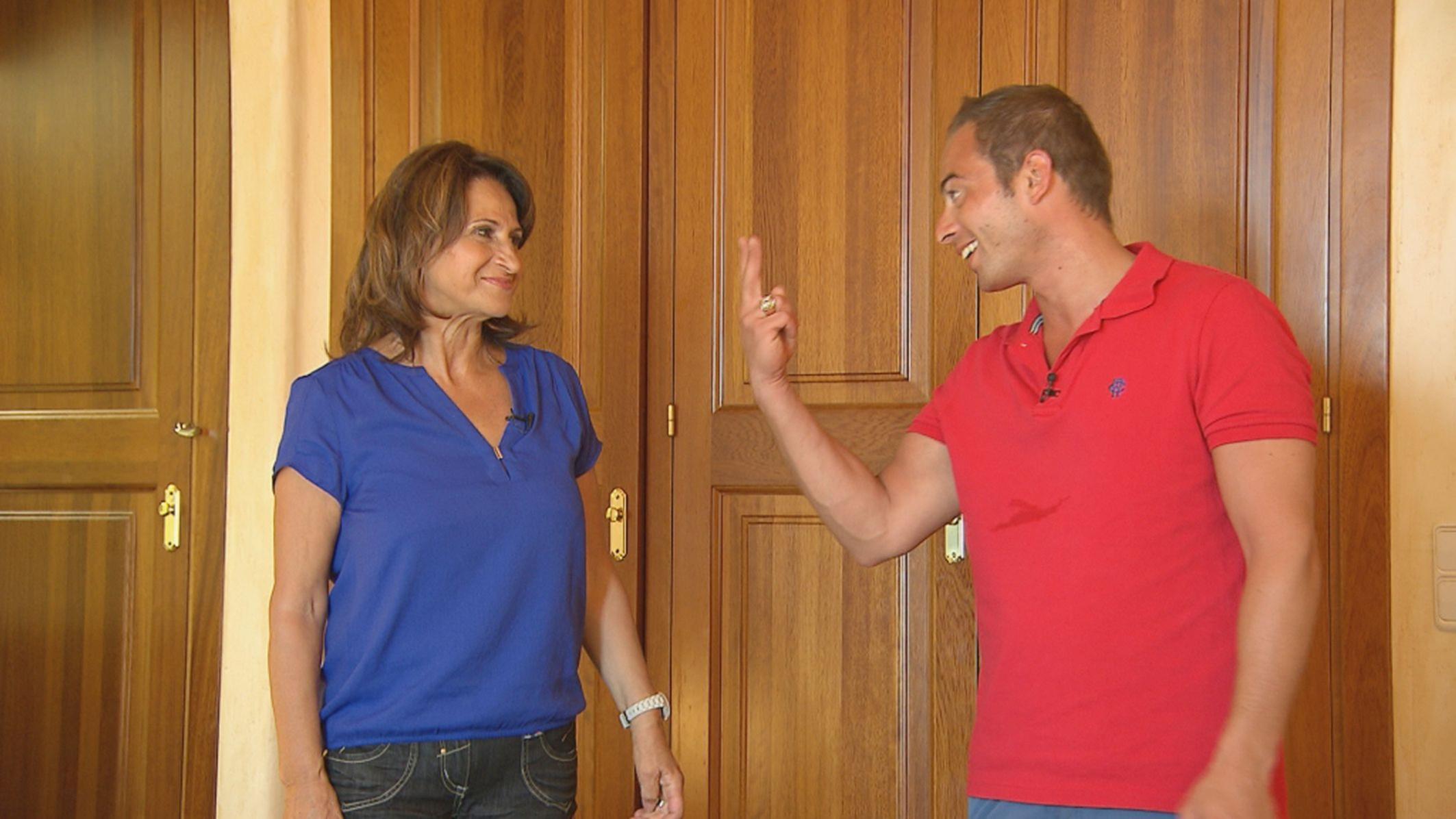 Mama Mia - Folge 5 - Fabio mit seiner Mutter Maria
