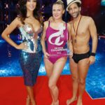 Die Pool Champions Finale - Magdalena Brzeska, Verona Pooth und Massimo Sinató