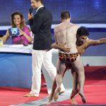 Die Pool Champions Finale - Massimo Sinató freut sich mit Johannes Donay