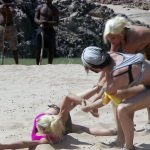 Wüstencamp 2013 - Folge 4 - Jordan Carver wird schwer angegangen