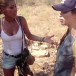 Wüstencamp 2013 - Folge 4 - Senna Gammour und Ingrid Pavic
