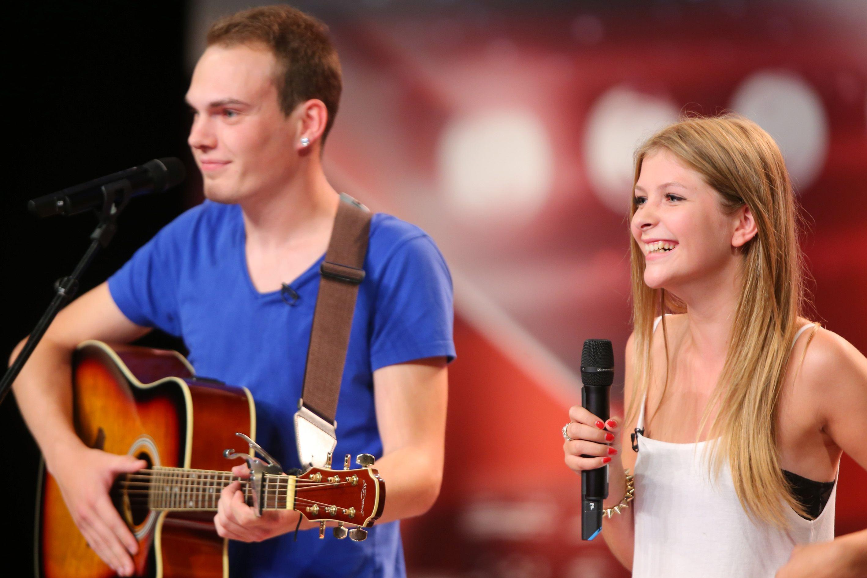 Das Supertalent 2013 - Folge 5 - Kimberly Günter und Freund André