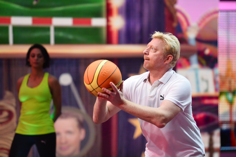 Becker gegen Pocher - Spiel Basketball