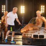 Becker gegen Pocher - Oliver Pocher beim Spiel Schwamm drüber