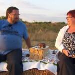 Bauer sucht Frau 2013 - Folge 2 - Angie und Helmut beim Picknick