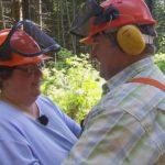 Bauer sucht Frau 2013 - Folge 7 - Albert und Sabine beim Baumfällen
