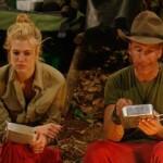 Dschungelcamp 2014 - Tag 1 - Larissa Marolt und Jochen Bendel