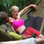 Dschungelcamp 2014 – Tag 2 – Mola Adebisi und Melanie Müller