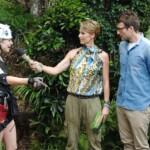 Dschungelcamp 2014 – Dschungelprüfung 2 – Sonja und Daniel sind stolz auf Larissa