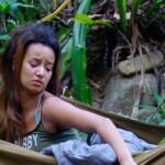 Dschungelcamp 2014 - Tag 4 - Gabby von Mücken zerstochen