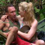Dschungelcamp - Tag 6 - Jochen Bendel und Larissa MArolt