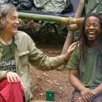 Dschungelcamp - Tag 6 - Mola Adebisi und Winfried Glatzeder