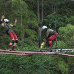 Dschungelcamp - Dschungelprüfung 7 - Larissa und Mola