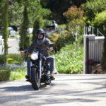 Der Bachelor 2014 - Folge 2 - Christian auf seinem Motorrad