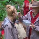Dschungelcamp Tag 11 - Larissa und Melanie