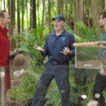 Dschungelcamp – Kakerlaken-Sarg – Jochen Bendel und Dr. Bob