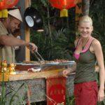 Dschungelcamp - Dschungelprüfung 12 - Melanie holt sich den ersten Leckerbissen