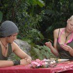 Dschungelcamp - Dschungelprüfung 12 - Melanie gibt sich Mühe und Marco schaut zu