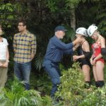 Dschungelcamp Tag 14 - Dschungelprüfung - Sonja, Daniel, Dr