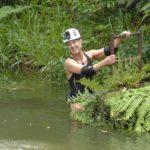 Dschungelcamp Tag 14 - Dschungelprüfung - Tanja Schumann