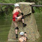 Dschungelcamp Tag 14 - Dschungelprüfung - Tanja und Melanie