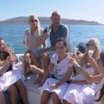 Der Bachelor 2014 - Folge 3 - Christian mit den Ladies beim Gruppendate