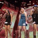 DSDS 2014 - Recall Mädchen - Elif, Anna-Sophie, Iryna und Ellen
