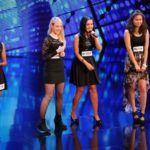 DSDS 2014 - Recall Mädchen - Sophia, Larissa, Meltem und Baasankhuu