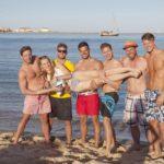 Die Bachelorette 2014 - Gruppendate am Strand