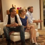 Die Bachelorette 2014 - Marvin, Anna und Pascal lauschen dem Livekonzert