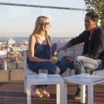 Die Bachelorette 2014 - Anna und Aurelio in der Rooftop Bar