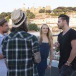 Die Bachelorette 2014 - Anna mit Tim, Manuel und Andreas