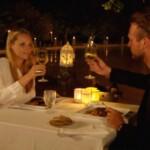 Die Bachelorette 2014 - Finale - Anna und Marvin beim Dinner