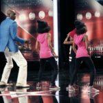 Das Supertalent 2014 - Casting 1 - Bruce Darnell mit Dounya, Zaki und Demia Tuinfort