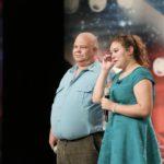 Das Supertalent 2014 - Casting 2 - Stefanie Lohse mit Vater Sven