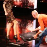 Das Supertalent 2014 - Casting 2 - Tomasz Palasz mit Lena Gercke