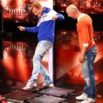 Das Supertalent 2014 - Casting 2 - Tomasz Palasz mit Dieter Bohlen