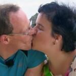 Schwiegertochter gesucht 2014 - Folge 7 - Beate und Thomas küssen sich