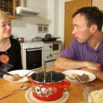 Bauer sucht Frau 2014 - Rainer und Heike beim Abendbrot