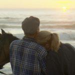 Bauer sucht Frau 2014 - Kerstin und Peter genießen den Sonnenuntergang