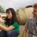 Bauer sucht Frau 2014 - Rolf und Janine mit Welpen