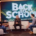 Back to School - Thomas Gottschalk mit Boris Becker und Felix Neureuther