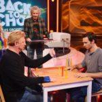 """Back to School - Boris Becker und Felix Neureuther beim Spiel """"Vier gewinnt"""""""