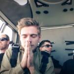 Dschungelcamp 2015 Tagebuch TAG 1 - Jörn betet vor seinem Sprung
