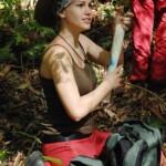 Dschungelcamp 2015 Tagebuch TAG 1 - Angelina Heger im Dschungel