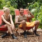 Dschungelcamp 2015 Dschungelprüfung 1 - Sara und Aurelio vor ihrer Prüfung