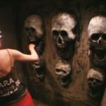 Dschungelcamp 2015 Dschungelprüfung 2 - Sara Kulka in der Hölle der Finsternis