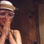 Dschungelcamp 2015 Dschungelprüfung 2 - Sara Kulka hat Angst