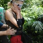 Dschungelcamp 2015 Dschungelprüfung 2 - Sara Kulka ist fix und fertig